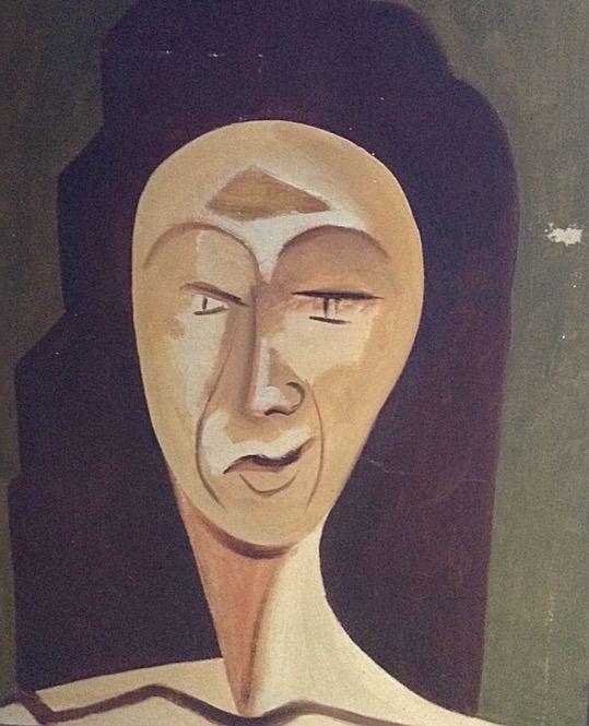 Something On Her Mind - Original Paintings