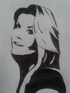 semi smiley girl