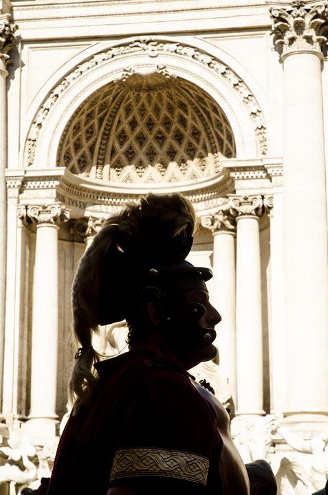 Rome 5 - Centurian silhouette - Justin Short