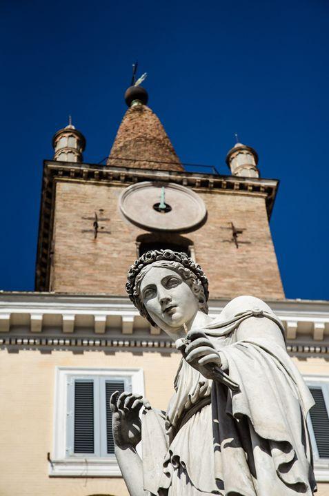 Rome 3 - statue detail - Justin Short