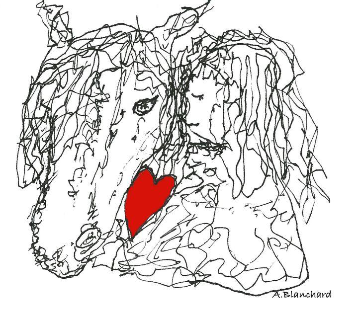 Horse love - A Blanchard Creations