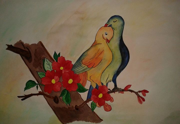 Love Birds - Pratibimb