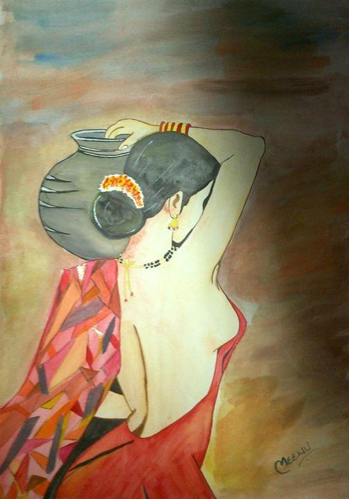 Beauty lies on the eyes of beholder - Pratibimb