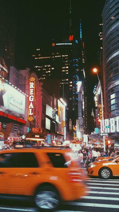 New York City Taxi - Gabor Juhasz