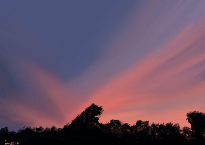 Sunset I - Aimee