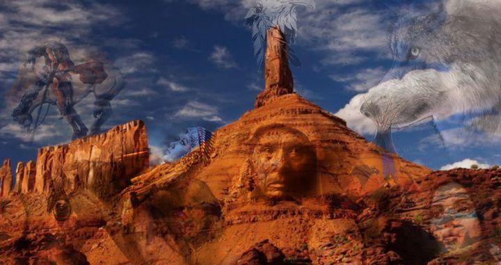Native Pride Tee shirt. hidden pics - Ozark Mountain Designs