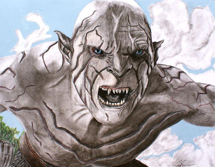 Pale Orc - JKDOM Drawings