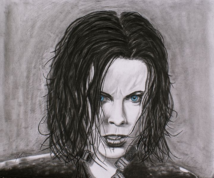 Selene - Guardian of the night - JKDOM Drawings