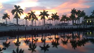 Gorgeousness At The Marina Restauran