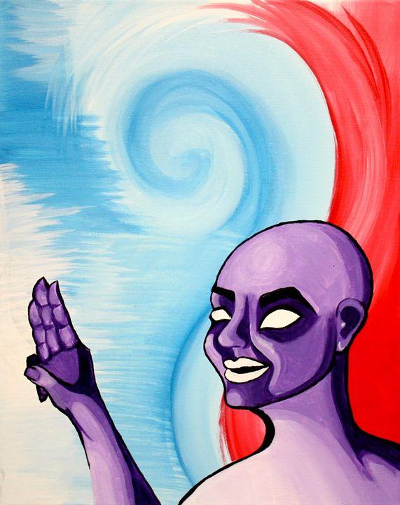 Bald woman - Amanda Beaulieu