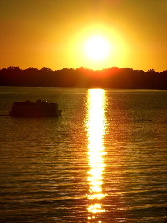 Reflected sunset - Emily Marie