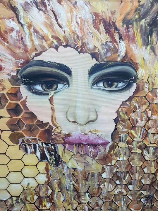 Woman's Honey - Pic of Art