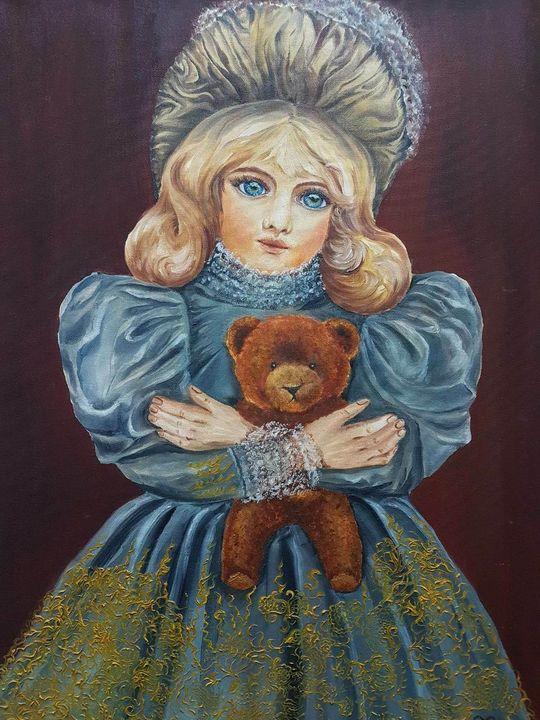 Doll Girl - Pic of Art
