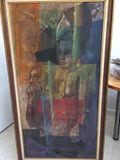 Original Haitian Surreal Abstract