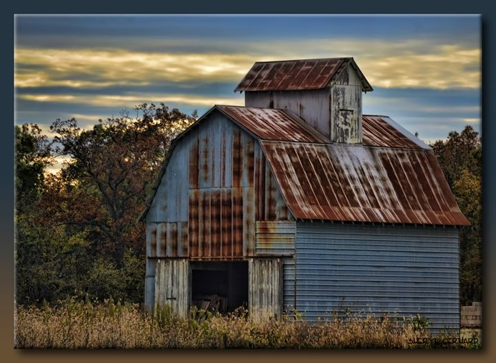 Rusting on the Prairie - Sheryl Gerhard