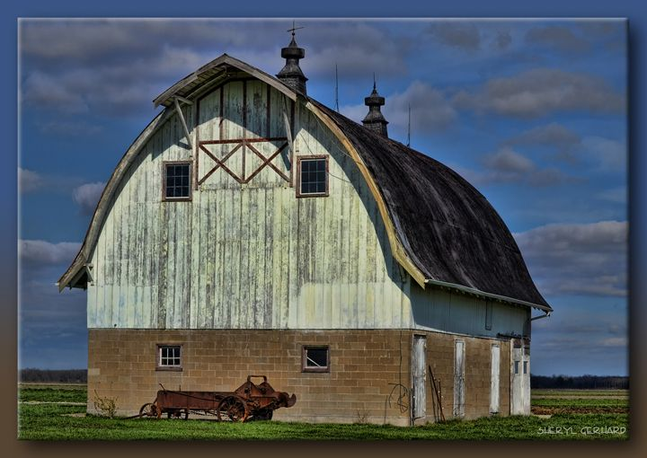 Jasper County Barn - Sheryl Gerhard