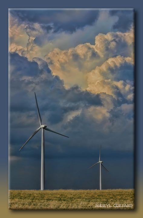 Turbines on the Prairie - Sheryl Gerhard