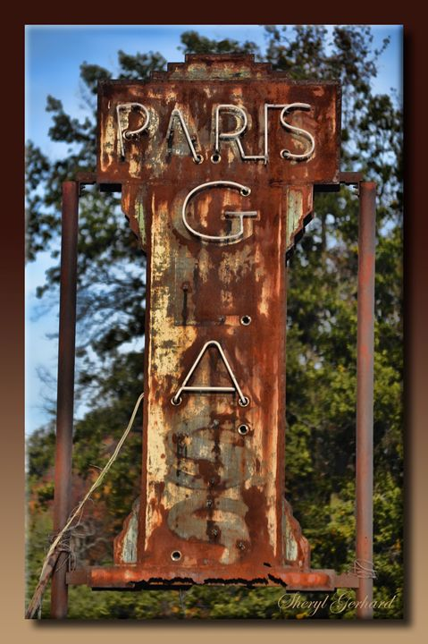 Paris Glass - Sheryl Gerhard