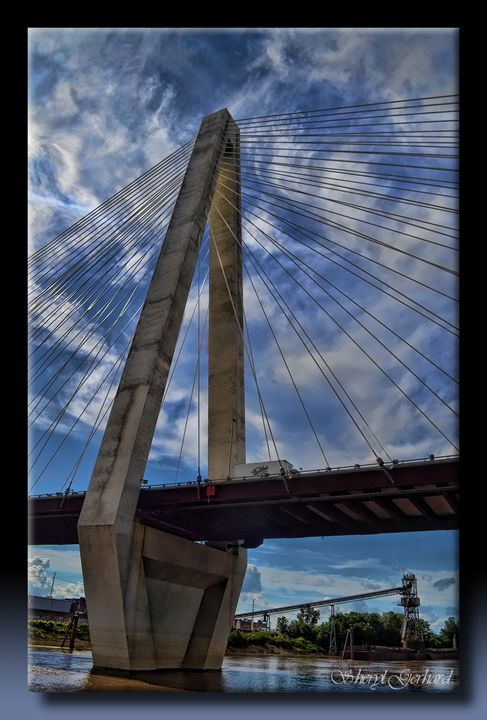 Cable-Stayed Bridge - Sheryl Gerhard