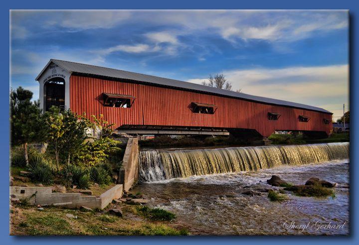Bridgeton Covered Bridge - Sheryl Gerhard
