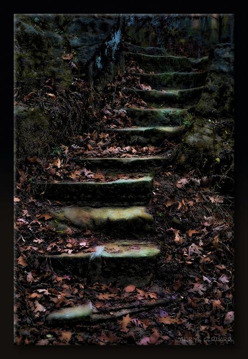 Stairway by Moonlight - Sheryl Gerhard