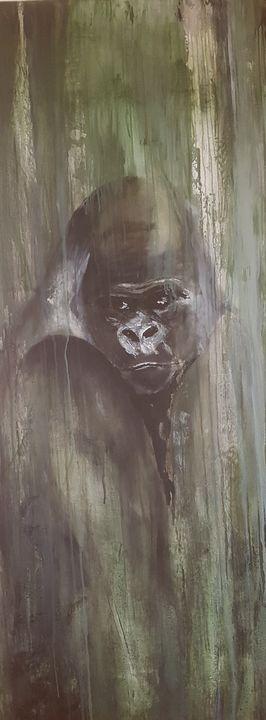 gorilla in the bush - babsie