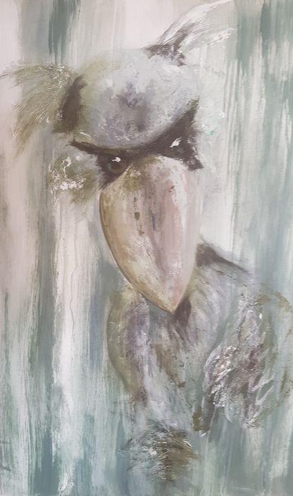 shoebill bird - babsie