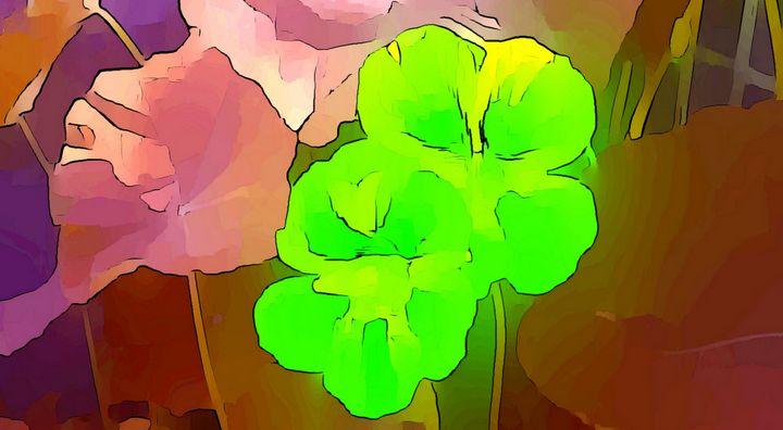 Green Nasturtium - maree jolleau design