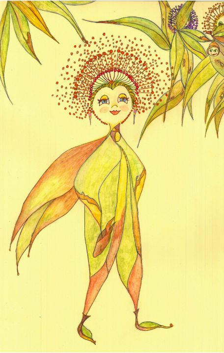 The Blossom Queen - maree jolleau design