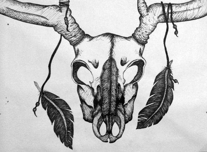 Deer Skull - Madison McCann