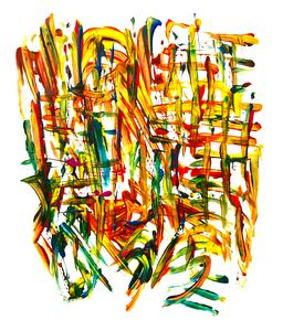 Abstract Fingerpainting