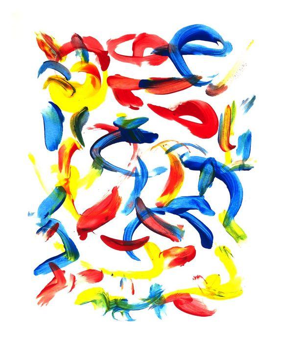 Red Yellow Blue - Benji Friedman