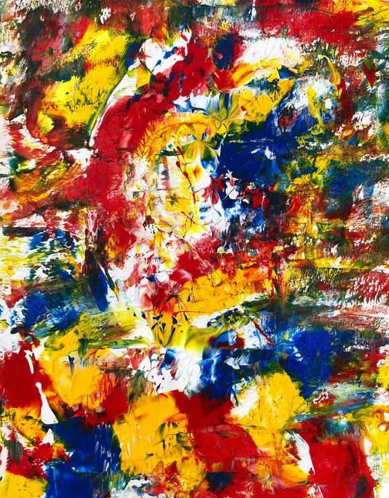 Primary Colors Abstraction - Benji Friedman