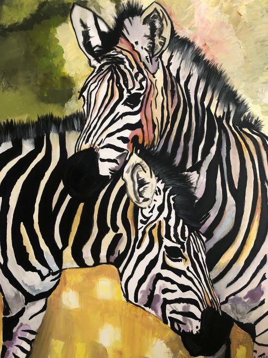 Zebras - Birsen Ates