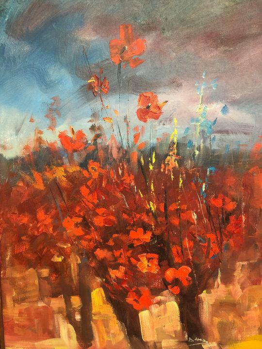 Dream poppies - Birsen Ates