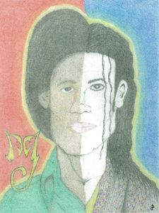 "Michael Jackson ""Twofaced Portrait"""