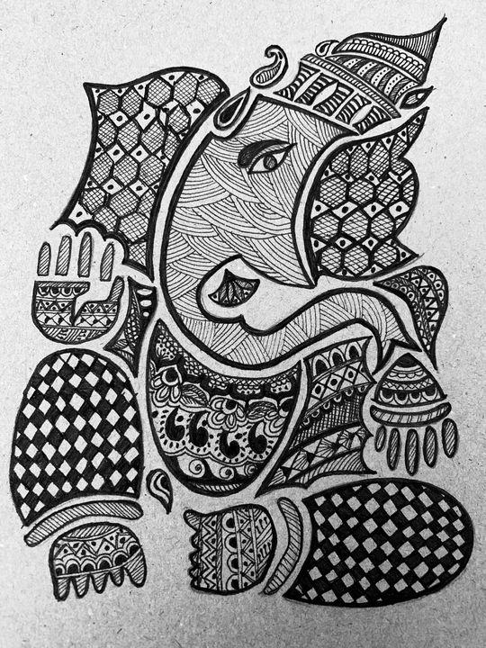 Ganesha - Shower thoughts_art