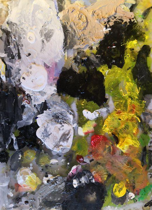 messy palette - SBear