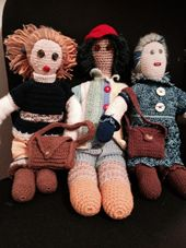Crochet Dolls and Accesories