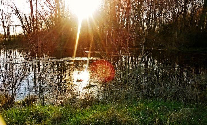 Amature sunset - Devils Angel Photography