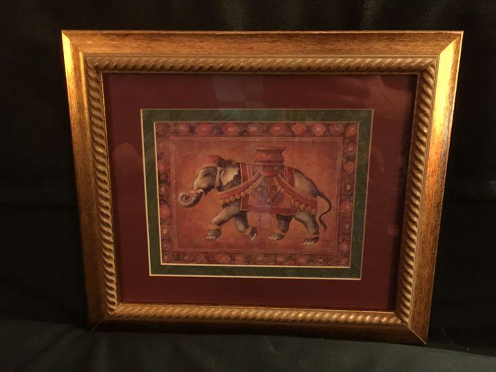 The Elephant - Blue Dragon Art
