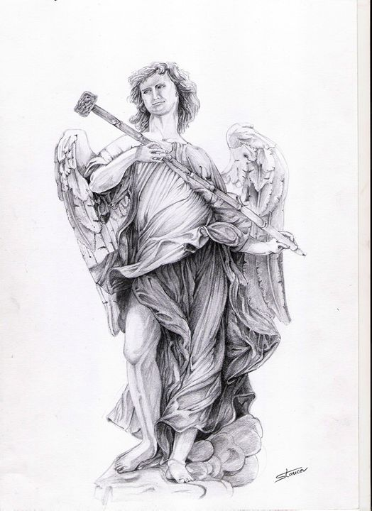 Angel - roma - artmishel