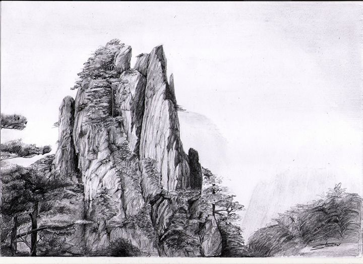 great mountain rock - artmishel