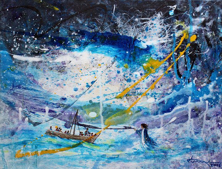 Walking on the Water - Kume Bryant Art