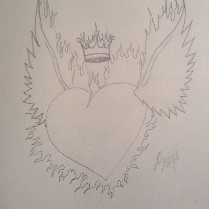 Royal Flamin Love - Peri Amour  (Rebecca Marie)
