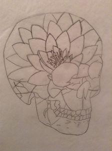 lotus Skull