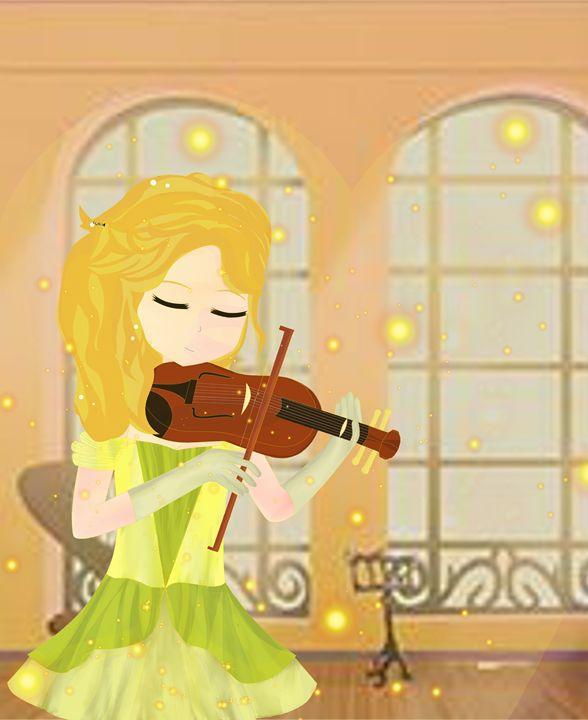 Morning Violin - xXxLunettexXx