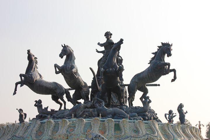 Chariot Statua - Indiartica