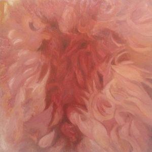 Sha's Flower - Oil on Canvas