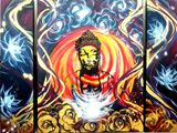 Buddha Original on Canvas